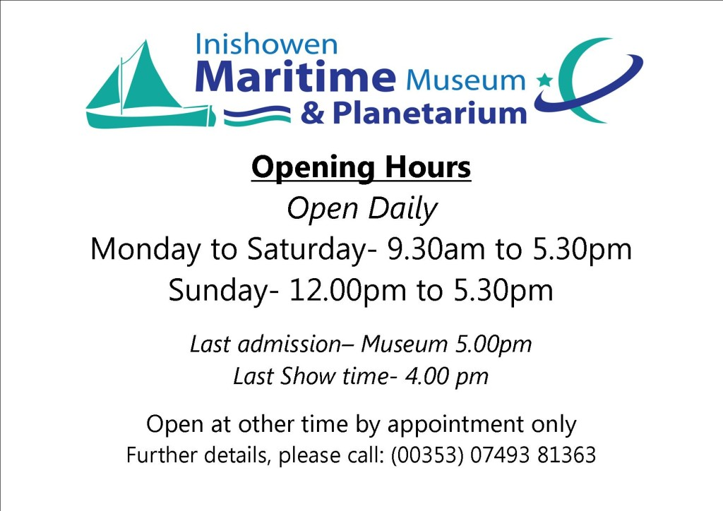 Opening Hours Summer